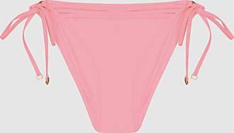 Reiss Elfrieda - Self Tie Bikini Briefs in Pink, Womens, Size 12