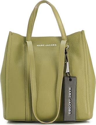 Marc Jacobs Bolsa tote de couro granulado - Verde