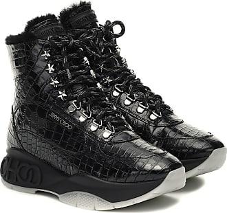 Jimmy Choo London Ankle Boots Inca/F aus Leder