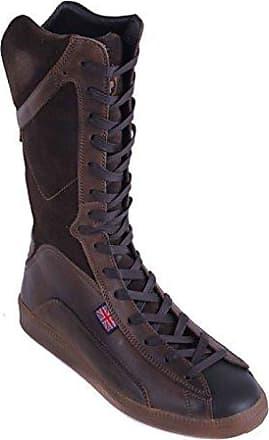 0bc923445b3283 Belstaff Damen Schuhe Stiefel Boots Echtleder Braun Gr. 37 26 (37)