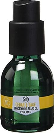 The Body Shop Cedar & Sage Conditioning Beard Oil For Men, 1 Fl Oz (Vegan)