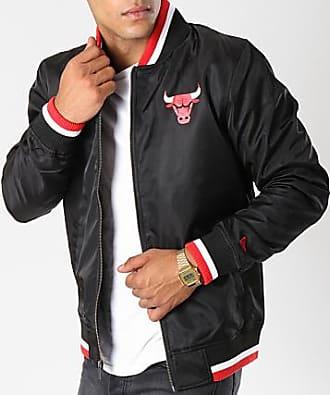 63879f4d00b5 New Era Veste Zippée Varsity Chicago Bulls 11604097 Noir Blanc Rouge