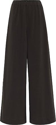 Joseph High-rise cotton-jersey wide pants