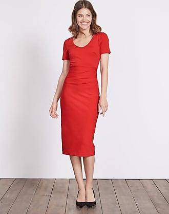 Rotes kleid lang tragerlos
