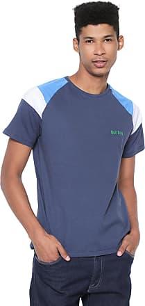 Doc Dog Camiseta Doc Dog Manga Curta Majolica Azul-marinho