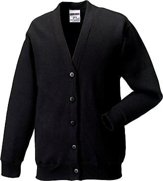 Russell Athletic Russell-Sweatshirt Cardigan-273M-Black-M