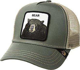 64337d273f448b Goorin Brothers Mens Drew Bear Animal Farm Trucker Cap, Olive, One Size