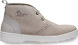 Panama Jack Mens Ankle Boots Michel C5 Velour Gris/Grey 40 EU