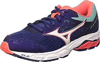best loved 27073 6c1f0 Mizuno Wave Equate 2 Wos, Chaussures de Running Femme, Multicolore  (Patriotblue White