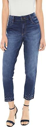 Biotipo Calça Jeans Biotipo Skinny Aplicações Azul