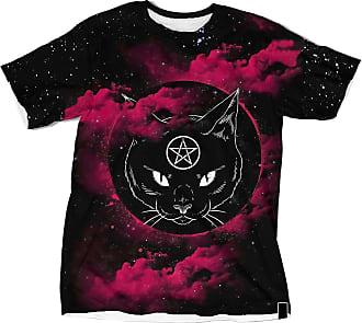 NA Wicca Black Cat Blood Moon 3D Shirt