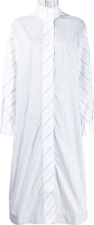 Ganni Chemise risca de giz - Branco