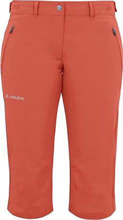 Vaude Farley Stretch Capri II Shorts für Damen | rot