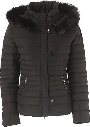 b03ac02e8aef67 Giorgio Armani Daunenjacke für Damen, wattierte Ski Jacke Günstig im Outlet  Sale, Schwarz,