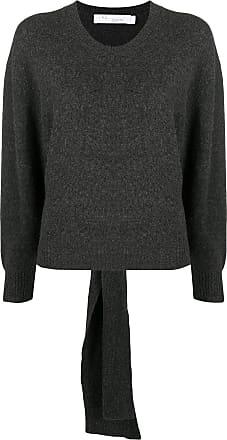 Iro Suéter com detalhe de nó - Cinza