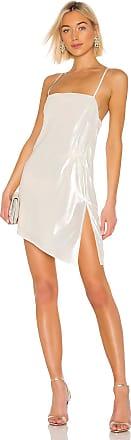 Michelle Mason Mini Shift Dress in White