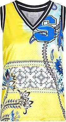 Sportalm Shirt im Paisleydruck mit Strickbündchen Größe:34