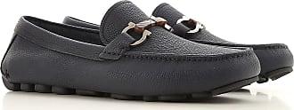 Salvatore Ferragamo Loafers for Men On Sale, Blue Dark, Leather, 2019, 6 7 8 8.5 9