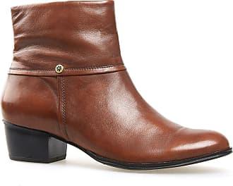 Van Dal Shoes Womens Short Boot Juliette in Tan