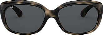 Ray-Ban Womens 4101 Sunglasses, Negro, 58
