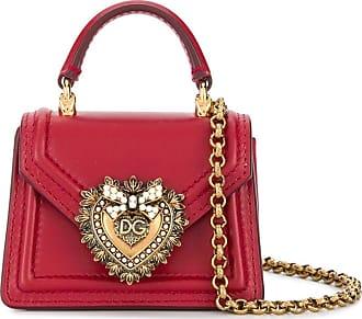 Dolce & Gabbana Bolsa Devotion micro - Vermelho