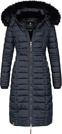 3f756d29041084 Navahoo Damen Wintermantel Mantel Steppmantel Winter Jacke lang Stepp warm  Teddyfell B670 [B670-Uma