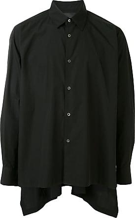 Fumito Ganryu Camiseta com pregas posteriores - Preto
