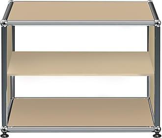 USM Haller Regal mit 2 Fächern H 39cm - USM beige/52 x 52 x 39cm