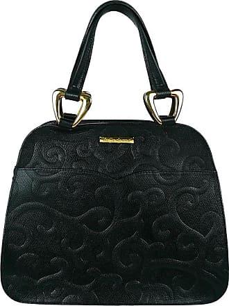 0690c8f6d22c Saint Laurent Ysl Vintage Black Leather Arabesque Handbag
