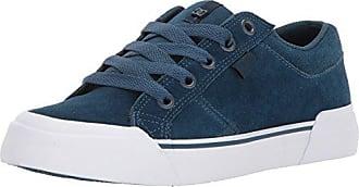 DC Womens Danni SE Skate Shoe, Navy/White, 5 B B US