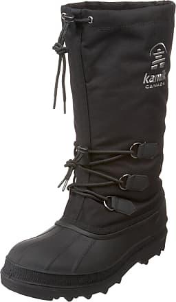 kamik Mens Canuck Snow Boots, Black, 12 UK