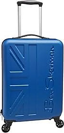Ben Sherman 21 inch 33 litre hard case suitcase. Featuring 4 wheel 360 degree rolling spinners for ease of movement