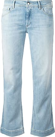 The Seafarer bootcut cropped jeans - Blue