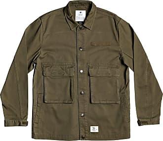 DC Shoes Admiral - Workwear Jacket for Men - Workwear Jacket - Men Fatigue Green