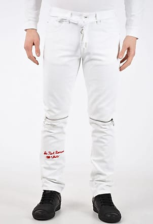 Off-white 17cm Zipped Ankle Jeans size 34