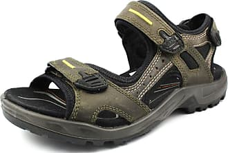 f254e3fd8ed3 Ecco Mens 06956456396 Athletic Sandals Green Green Brown Size  8 UK