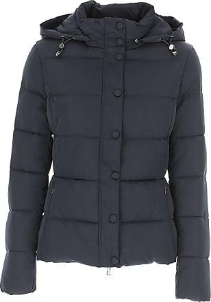 Emporio Armani Daunenjacke für Damen, wattierte Ski Jacke Günstig im Sale,  Marineblau, Polyester 468dc2b842