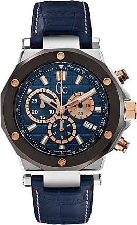 Acotis Limited Gc Watches Gc 3 Gents Blue and Silver Tone Gun Watch X72025G7S