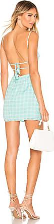 Superdown Elinn Strappy Back Dress in Mint