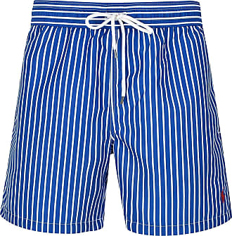 a3c3a557f4 Ralph Lauren Polo Hawaiian Swim Shorts Stripe Blue (L) (Large) 1020000000147