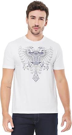 3f2a54f2c6 Cavalera Camiseta Cavalera Águia Firula Branca
