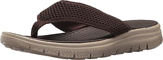 f96f1427de162 Skechers Mens Flex Advantage S Crommelin Flip-Flop