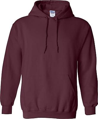 Gildan Gildan Heavy Blend Adult Unisex Hooded Sweatshirt / Hoodie (S) (Maroon)