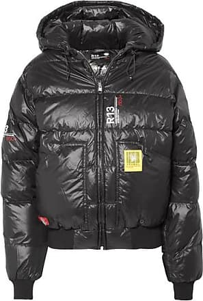 Brumal + R13 Quilted Shell Down Jacket - Black