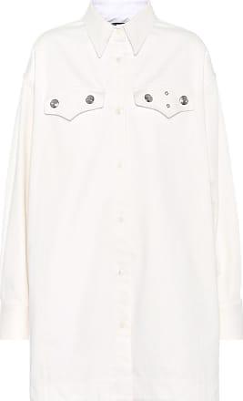 CALVIN KLEIN 205W39NYC Verzierte Bluse aus Baumwolle