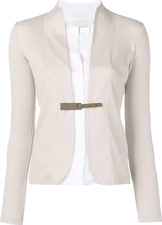 Fabiana Filippi layered fitted blazer - Neutrals