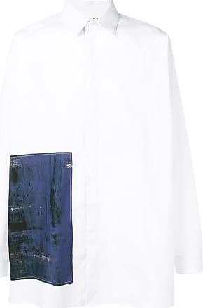Isabel Benenato Camisa ampla - Branco