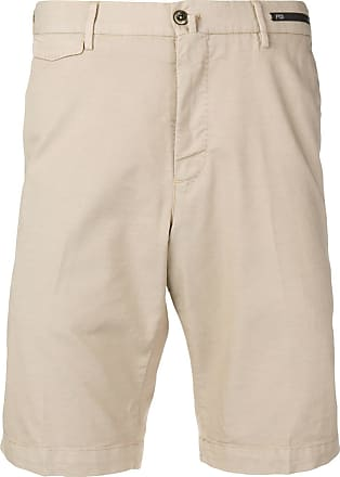 PT01 knee-length shorts - Neutrals