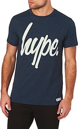 Hype Hype T-shirts - Hype Basic Logo T-Shirt - Ocean Fleck