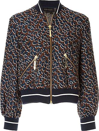 Karen Walker glitter animal jacket - Blue